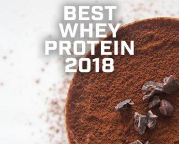 Best Whey Protein 2018