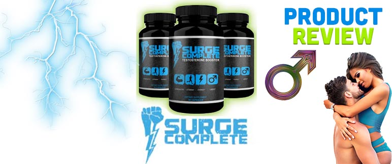 Surge Complete Testosterone Booster – Will It Get You Gains? Review