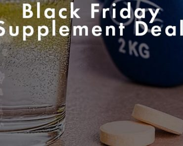 Black Friday Supplement Deals