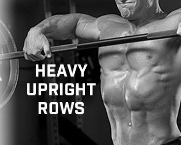 Heavy Upright Rows