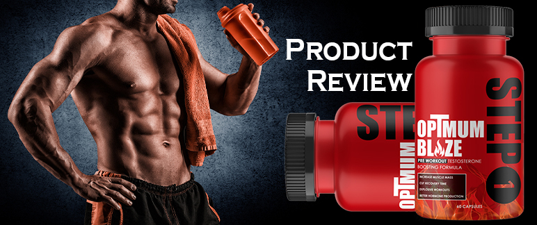 OpTmum Blaze Pre Workout - Improve Recovery Time & Muscle!   Review